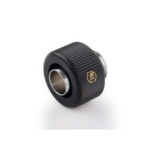 "Touchaqua G1/4"" Compression Fitting For Soft Tubing - ID 3/8"" OD 1/2"" (Glorious Black)"