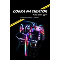 Bykski COBRA NAVIGATOR ITX ATX Fully Open E-sports Chassis MOD Case For Gaming Gamer Water Cooling Case B-CB-PLT New Arrival