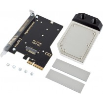 kryoM.2 PCIe 3.0 x4 adapter for M.2 NGFF PCIe SSD, M-Key with nickel plated water block