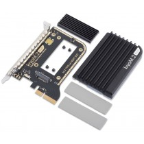 kryoM.2 evo PCIe 3.0 x4 adapter for M.2 NGFF PCIe SSD, M-Key with passive heatsink
