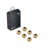 "Bitspower G1/4"" True Brass Enhance Multi-Link For OD 12MM (6PCS)"