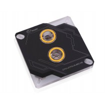 Bykski CPU-XPR-A-MC CPU Water Cooling Block V2 - Black w/ 5v Addressable RGB (RBW) (LGA 115x / 20xx)