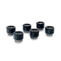 EK-HDC Fitting 12mm - Black (6-pack)