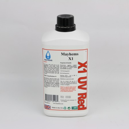 X1 - UV Red 1ltr