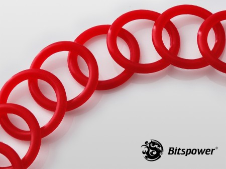 Color O-Ring Set For Multi-Link Adapter (10PCS) (Deep Red)