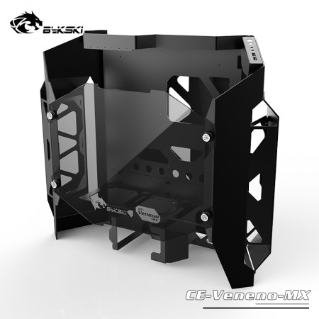 Bykski Poison MOD Water Cooled Gaming Aluminum Chassis (CE-Veneno-MX)