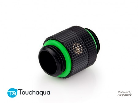 "Touchaqua G1/4"" Rotary Extender (Glorious Black)"