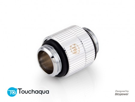 "Touchaqua G1/4"" Rotary Extender (Glorious Silver)"