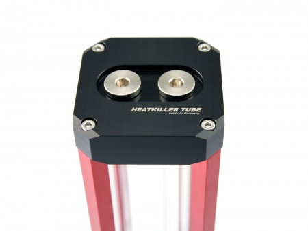 HEATKILLER® Tube 100 with Multiport Top with red struts